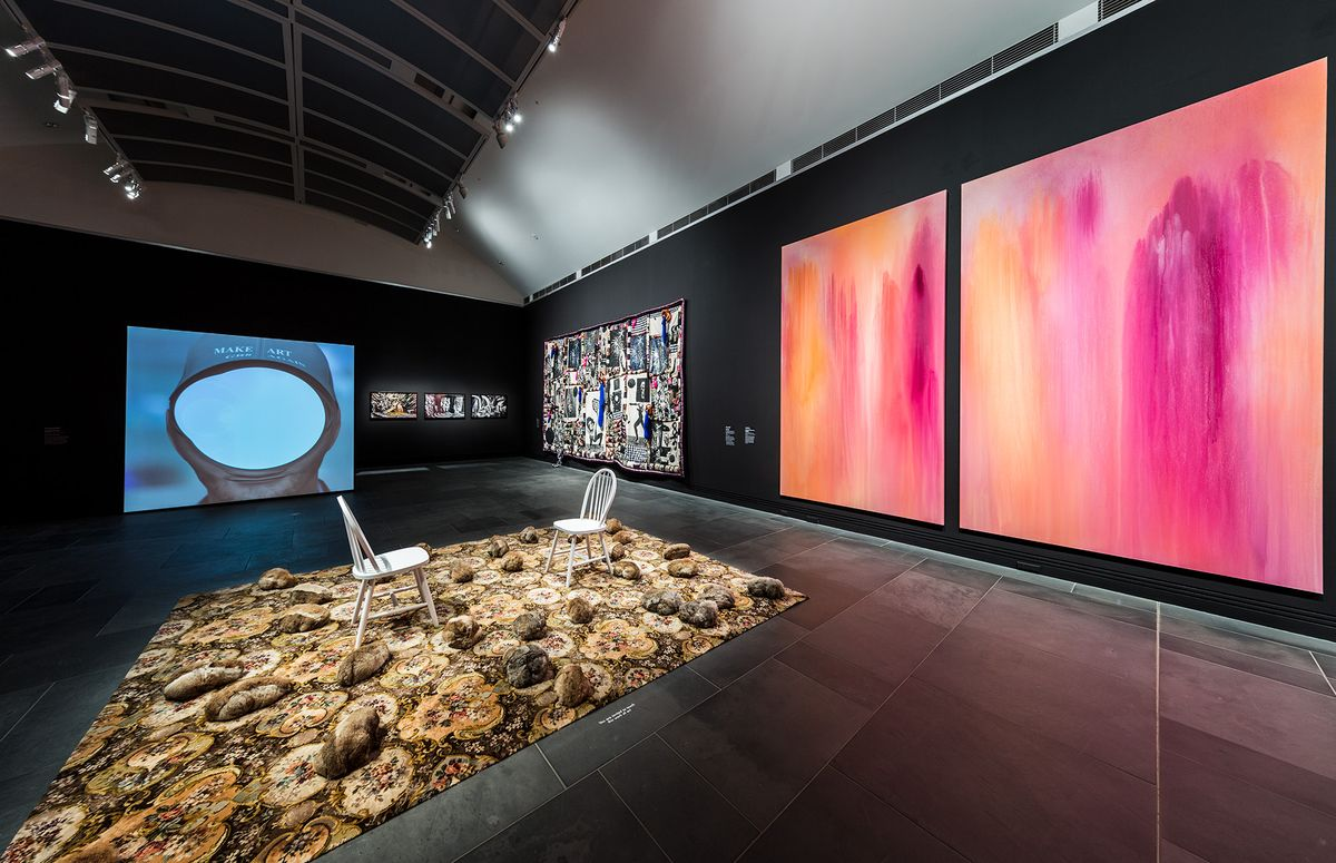 Installation view Ramsay Art Prize, Art Gallery of South Australia, 2017